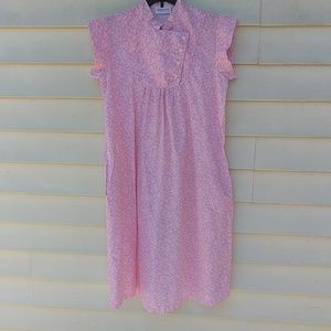 maternity Dresses - Vtg Maternity Dress M L Pink MuMu Baby 80s USA